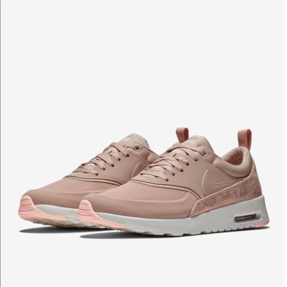 lowest price 90882 9bdc1 Nike Air Max Thea Premium Rose Gold 9